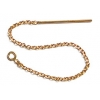 Gold Filled 14kt Threader Earring Cable Chain with ring